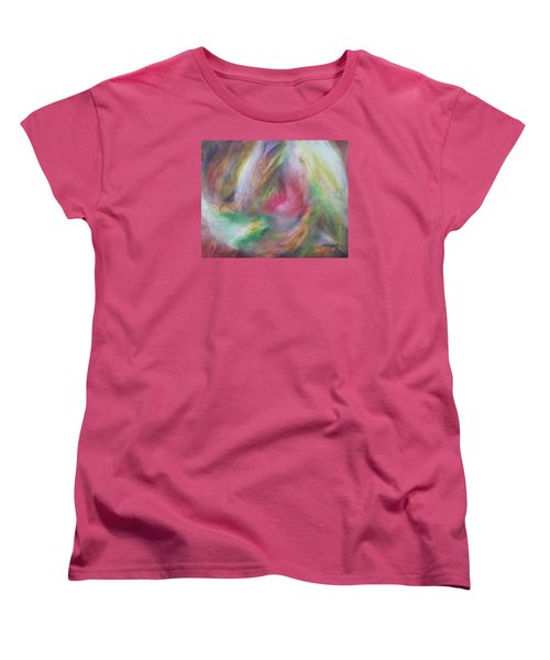 Compassion Women's T-Shirt (Standard Cut) by Becky Chappell