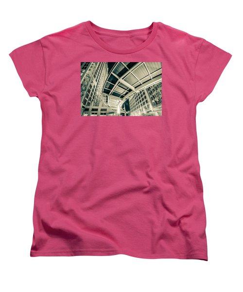 Women's T-Shirt (Standard Cut) featuring the photograph Complex Architecture by Alex Grichenko