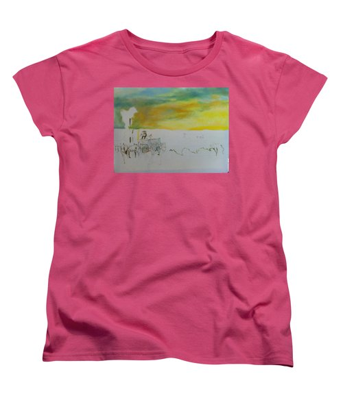 Composition Women's T-Shirt (Standard Cut) by Mary Ellen Anderson