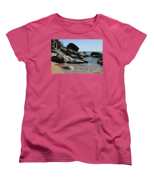 Contrast Women's T-Shirt (Standard Cut) by Jola Martysz