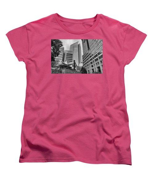 Contrasting Southern Architecture Women's T-Shirt (Standard Cut) by Douglas Barnard