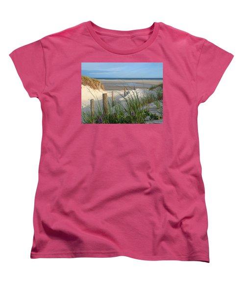 Cool Of Morning Women's T-Shirt (Standard Cut) by Dianne Cowen