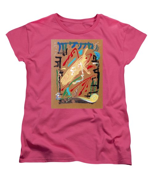 Cosmopolitan Women's T-Shirt (Standard Cut) by Mary Carol Williams