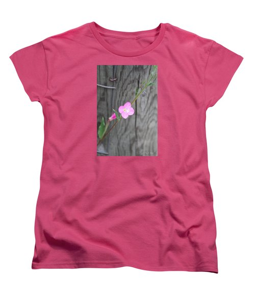 Country Flower  Women's T-Shirt (Standard Cut) by Amy Gallagher