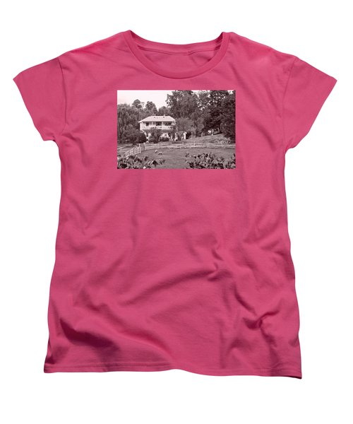 Country Life Women's T-Shirt (Standard Cut) by Denise Romano