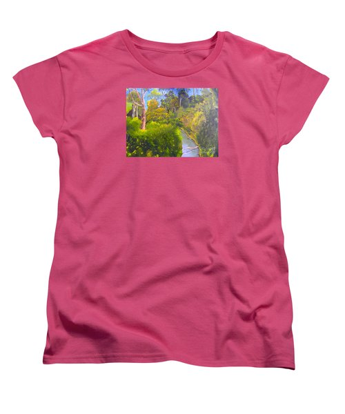 Creek In The Bush Women's T-Shirt (Standard Cut)