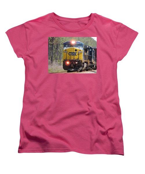 Csx 7363 Women's T-Shirt (Standard Cut) by Kim Pate