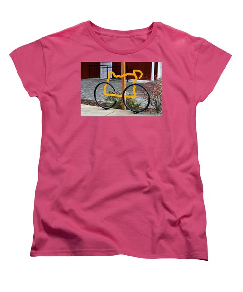 Women's T-Shirt (Standard Cut) featuring the photograph Cycle Oregon by Kevin Desrosiers