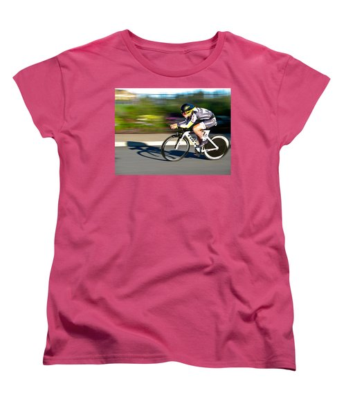 Women's T-Shirt (Standard Cut) featuring the photograph Cycling Prologue by Kevin Desrosiers