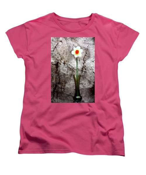 Women's T-Shirt (Standard Cut) featuring the photograph Daffodil by Gray  Artus