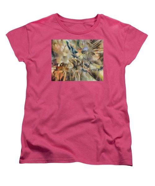 Women's T-Shirt (Standard Cut) featuring the digital art Dancing Dreams by Joe Misrasi