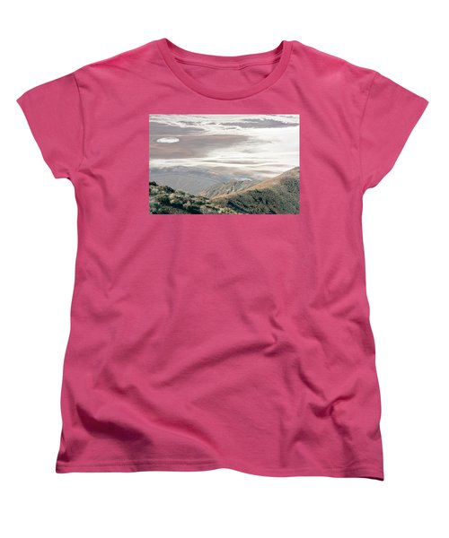 Women's T-Shirt (Standard Cut) featuring the photograph Dante's View #1 by Stuart Litoff