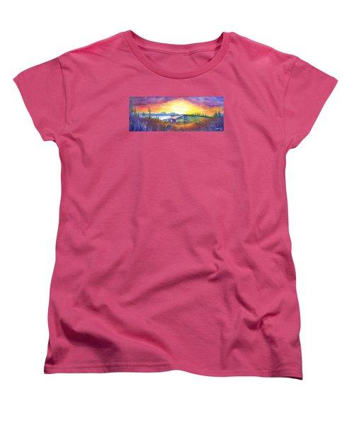 Dark Star Orchestra Dillon Amphitheater Women's T-Shirt (Standard Cut)