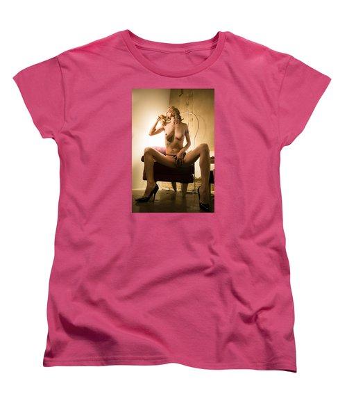 Women's T-Shirt (Standard Cut) featuring the photograph Deep Thoughts by Mez