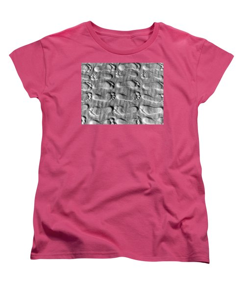 Deliberately Grainy Women's T-Shirt (Standard Cut) by Charlie and Norma Brock