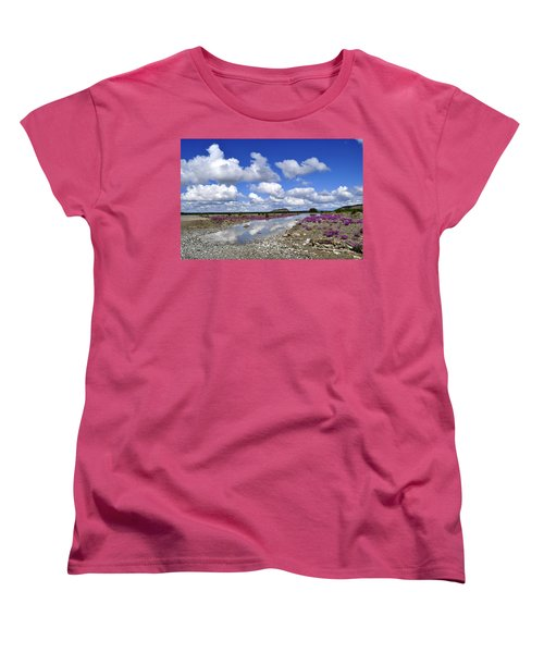Women's T-Shirt (Standard Cut) featuring the photograph Delta Junction Summer by Cathy Mahnke