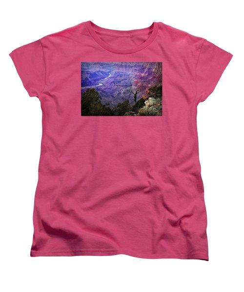 Desert View Sunset Women's T-Shirt (Standard Cut) by Priscilla Burgers