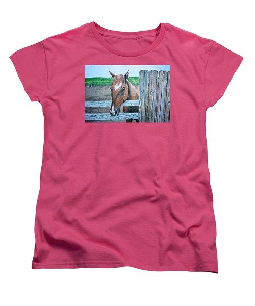 Diamond Women's T-Shirt (Standard Cut) by Dustin Miller