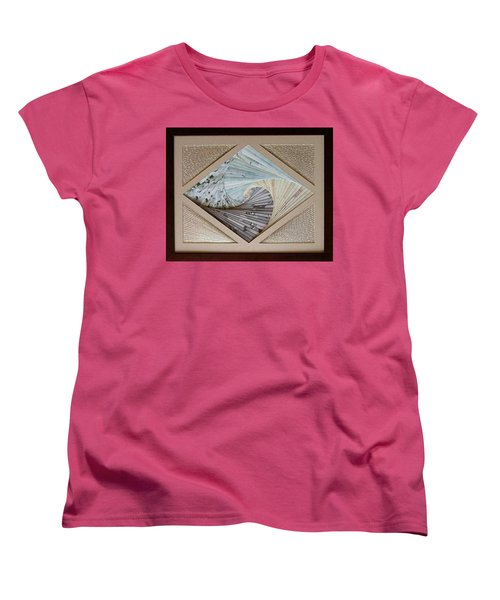 Women's T-Shirt (Standard Cut) featuring the mixed media Diamonds Are Forever by Ron Davidson