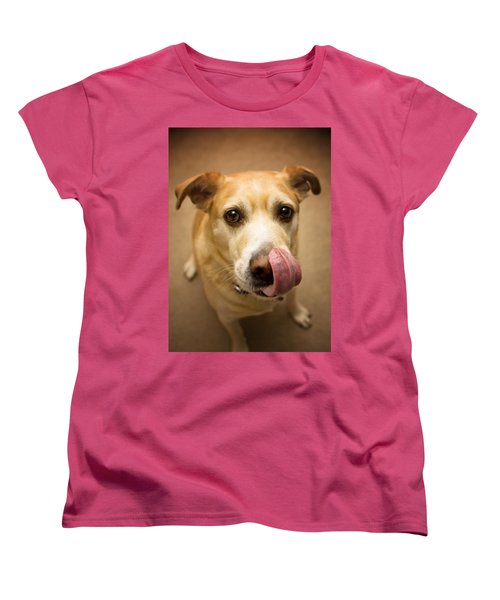 Did You Say Bacon? Women's T-Shirt (Standard Cut) by Aaron Berg