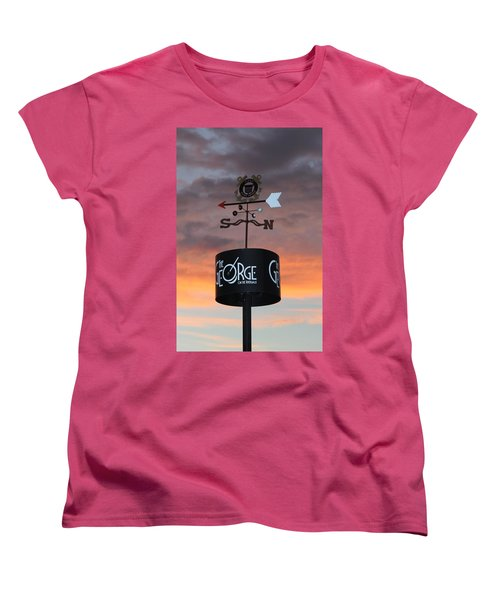 Women's T-Shirt (Standard Cut) featuring the photograph Direction by Cynthia Guinn
