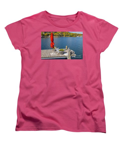 Dock By The Bay Women's T-Shirt (Standard Cut) by William Norton