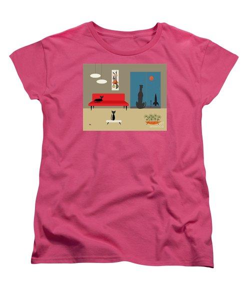 Dog Spies Alien Women's T-Shirt (Standard Cut)