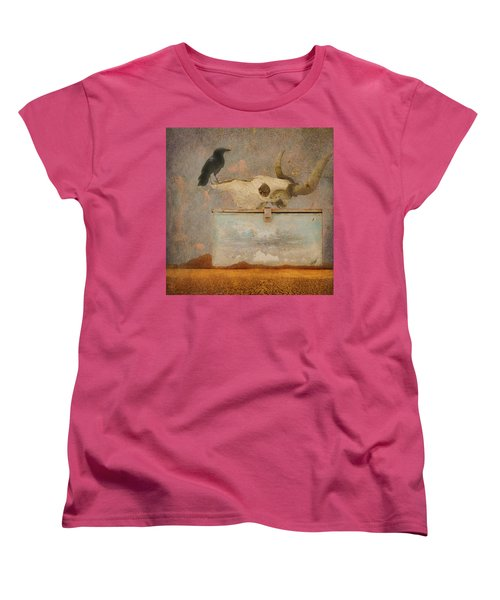 Drought And The Illusion Of Water Women's T-Shirt (Standard Cut) by Jeff Burgess