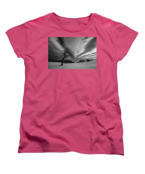 Women's T-Shirt (Standard Cut) featuring the photograph Duel by Davorin Mance