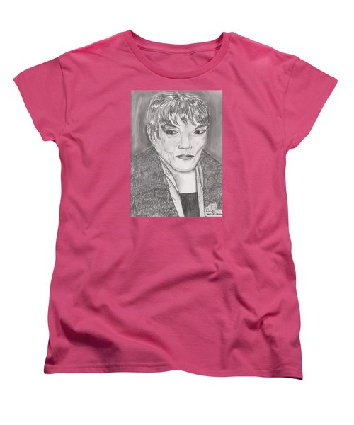 Eartha Kitt Women's T-Shirt (Standard Cut) by David Jackson