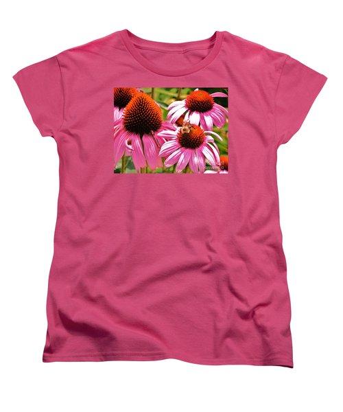 Women's T-Shirt (Standard Cut) featuring the photograph Ech 2 by Robin Coaker