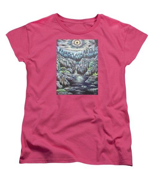 Eclipse 2 Women's T-Shirt (Standard Cut) by Cheryl Pettigrew