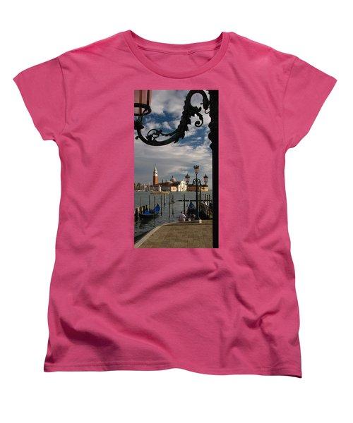 Elegant Lampost Women's T-Shirt (Standard Cut) by Jennifer Wheatley Wolf