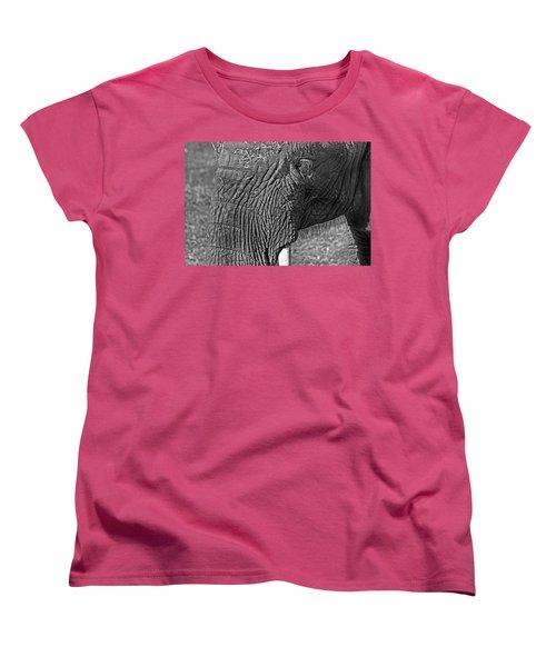 Elephant.. Dont Cry Women's T-Shirt (Standard Cut) by Miroslava Jurcik