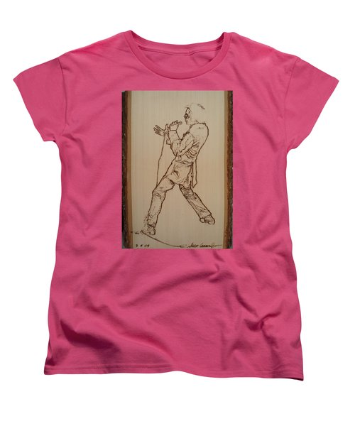 Elvis Presley - If I Can Dream Women's T-Shirt (Standard Cut) by Sean Connolly