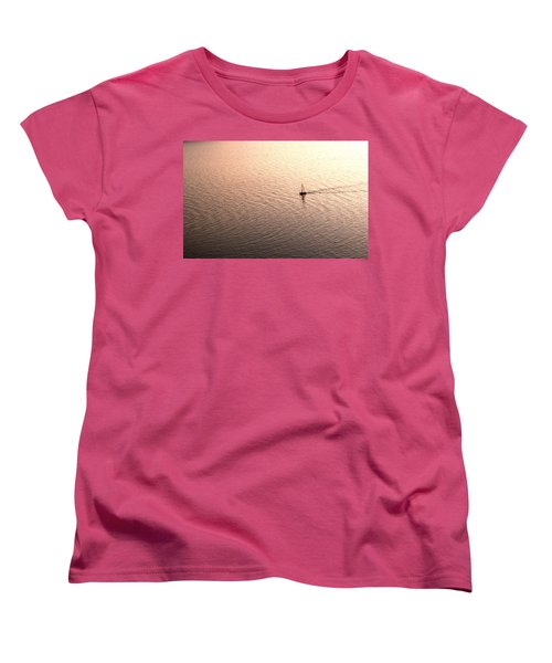 Women's T-Shirt (Standard Cut) featuring the photograph Escape by Lana Enderle