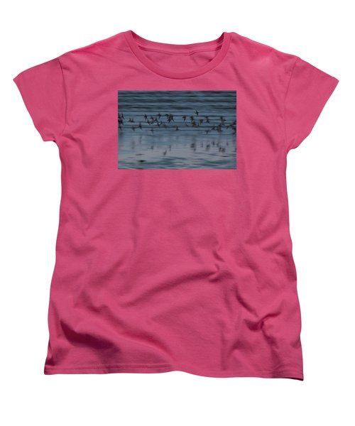 Women's T-Shirt (Standard Cut) featuring the photograph Evening Abstract by Alex Lapidus