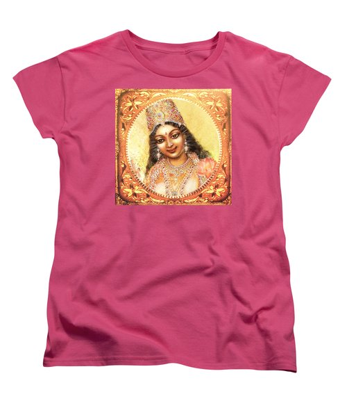 Face Of The Goddess - Lalitha Devi  Women's T-Shirt (Standard Cut) by Ananda Vdovic