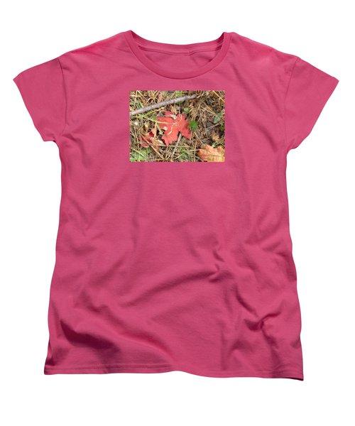 Fall Colors 6307 Women's T-Shirt (Standard Cut) by En-Chuen Soo