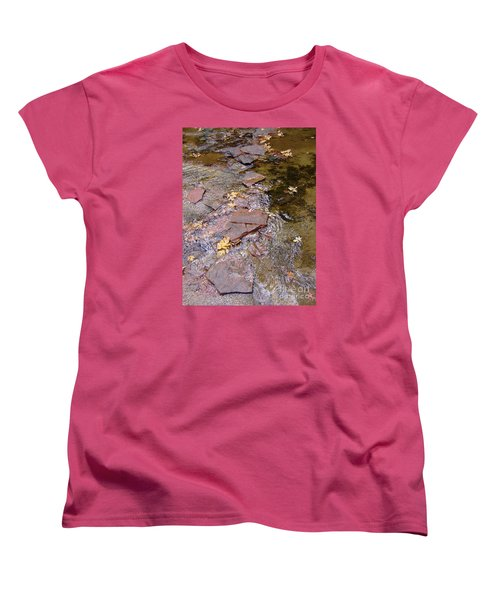 Fall Colors 6443 Women's T-Shirt (Standard Cut) by En-Chuen Soo