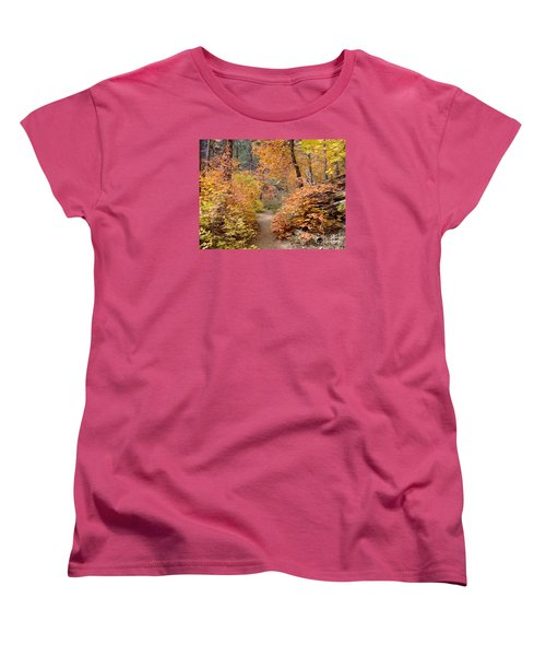 Fall Colors 6454 Women's T-Shirt (Standard Cut) by En-Chuen Soo