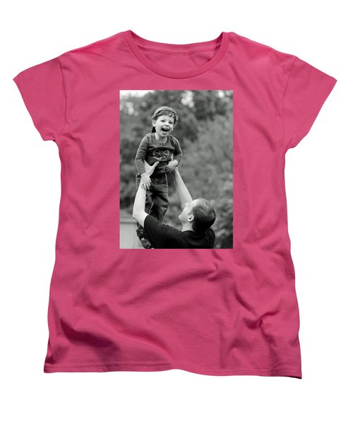 Father And Son IIi Women's T-Shirt (Standard Cut) by Lisa Phillips