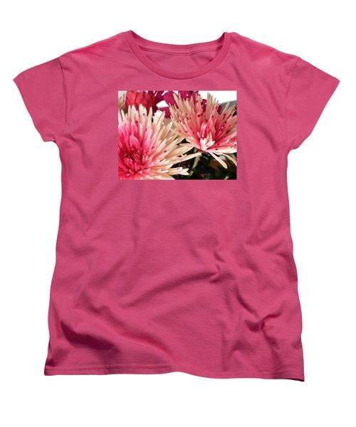Feel The Heart Felt Love Women's T-Shirt (Standard Cut) by Belinda Lee