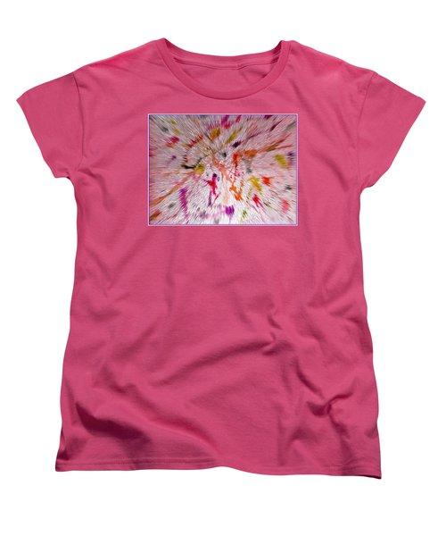 Festival Of Colours Women's T-Shirt (Standard Cut) by Sonali Gangane