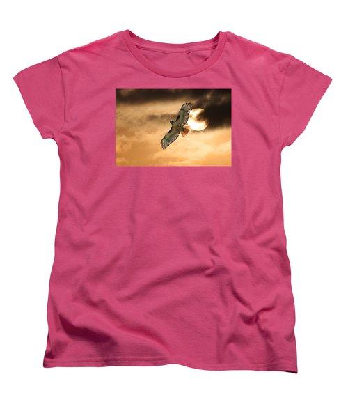 Women's T-Shirt (Standard Cut) featuring the photograph Firebird by Jim Garrison
