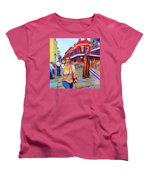 First Trip To New Orleans Women's T-Shirt (Standard Cut) by Jeanette Jarmon