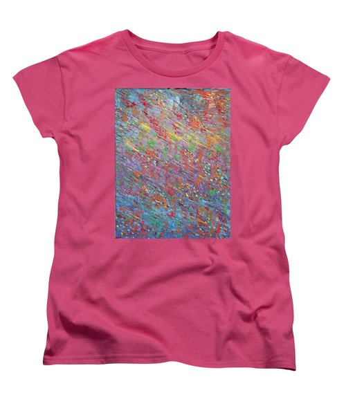 Fish To The Top Women's T-Shirt (Standard Cut) by George Riney