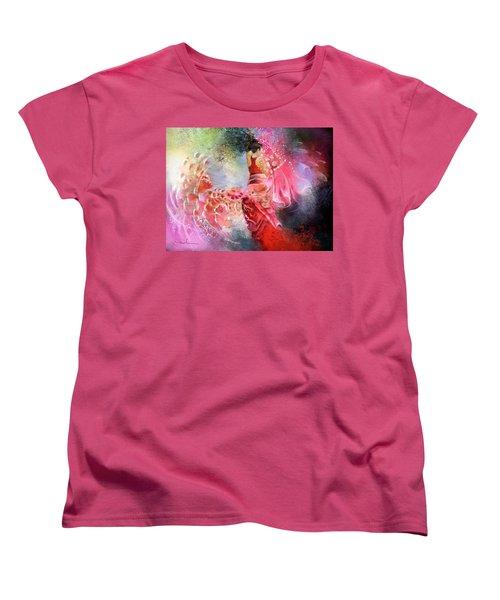 Flamencoscape 13 Women's T-Shirt (Standard Cut) by Miki De Goodaboom