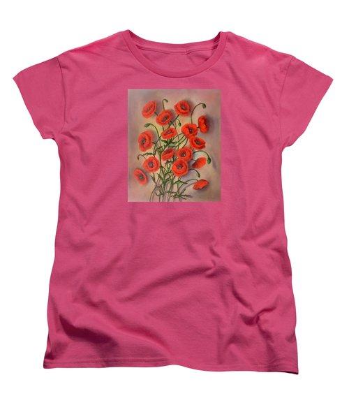 Flander's Poppies Women's T-Shirt (Standard Cut)