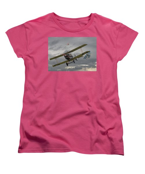 Flander's Skies Women's T-Shirt (Standard Cut) by Pat Speirs